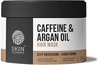 Skin Elements Caffeine & Argan Hairfall Control Mask, 200 ml