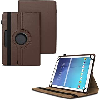 TGK 360 Degree Rotating Universal 3 Camera Hole Leather Stand Case Cover for Samsung Galaxy Tab E  9.6 inch  SM  T560…
