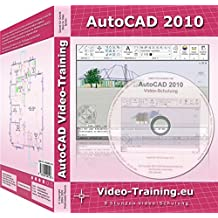 AutoCAD 2010 Video-Schulung: 8 Stunden Video-Training (254 Videos).. Für Windows 98/ME/2000/XP/Vista. Incl. Übungen und Volltestversion (30 Tage Fristversion)