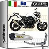 Arrow Auspuff Komplett Hom x-cone Nichrom Carby Suzuki GSR 75020131320141471776X Ki + 71445Ich + 71443Ich