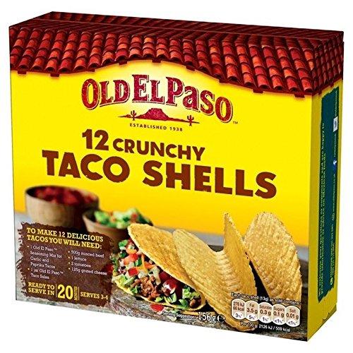 Old El Paso Taco 156g (Packung von 6)