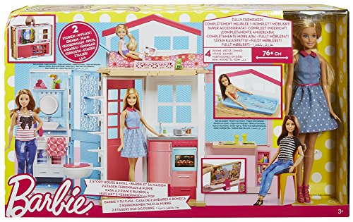 Image of Barbie DVV48 Low-Priced House Plus Doll