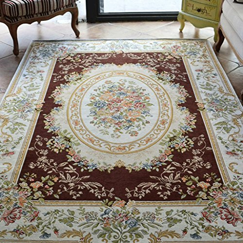 Donglu tappeto comodino rettangolare per camera da letto europeo con rivestimento in moquette. può essere lavato (colore : 3#, dimensioni : 140cm×200cm)