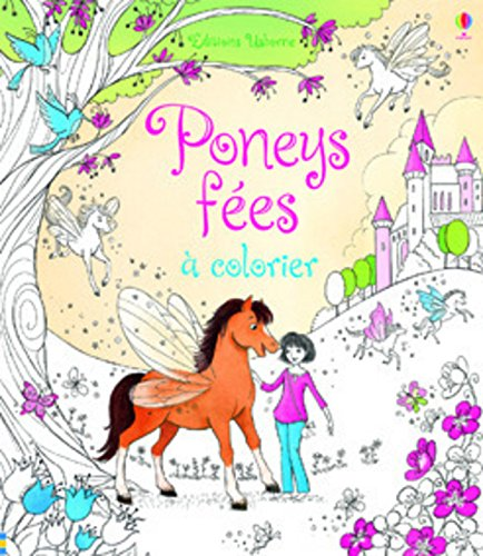 Poney fes  colorier