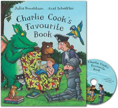Charlie Cook's Favourite Book: Book and CD Pack (Book & CD)