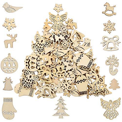 Offerta 8 pezzi piccoli mollette dorate decorative albero di Natale abete 5 cm mollette di Natale decorazione mollette di legno mini mollette mollette da bucato
