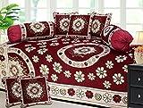 #6: Fresh From Loom Velvet Diwan Set