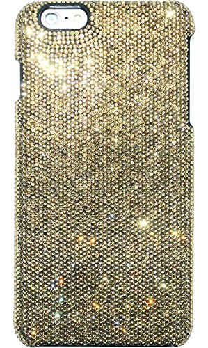 The Kase Collection Case für Apple iPhone 6 Plus, Strass, Gold