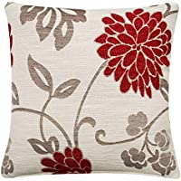 Chrystie Cushion Covers Chenille Floral Cushions Exclusive Ideal Textiles Design Pillow