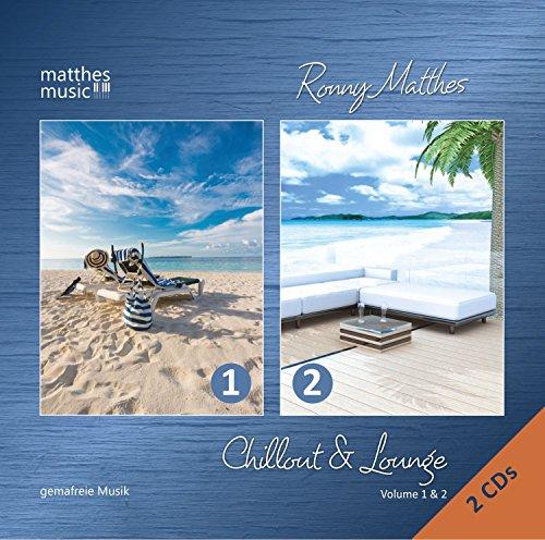 Chillout & Lounge (Vol.1 & 2) - Gemafreie Loungemusik: Hintergrundmusik & Ambient von Matthesmusic (Doppelalbum - 2 CDs) (Gema-freie Musik-cd)
