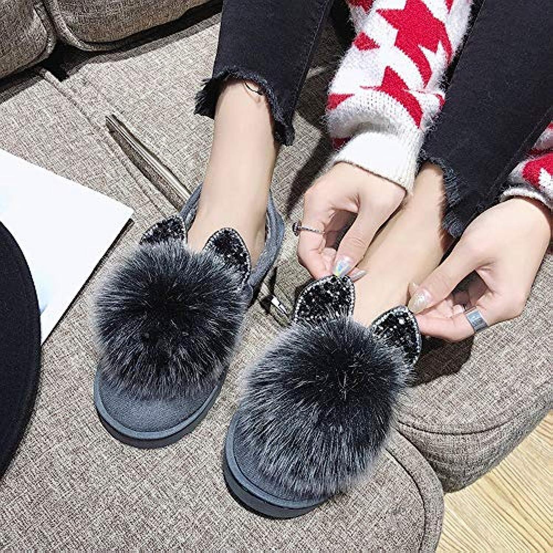 QBSOE Stivali da Neve Stivali Stivali Stivali da Neve Scarpe Invernali Stivali Piatti Scarpe Calde Donna Cotone Stivale Nudo,... | Facile da usare  065782