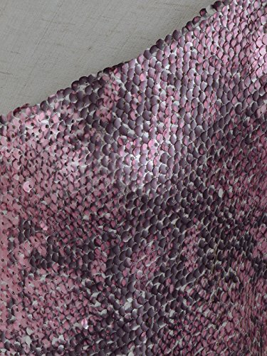 Anna-Kaci Femme Brillant Paillette Sparkly fines bretelles Camisole Spaghetti veste Chemise Vest Tank Top Rose