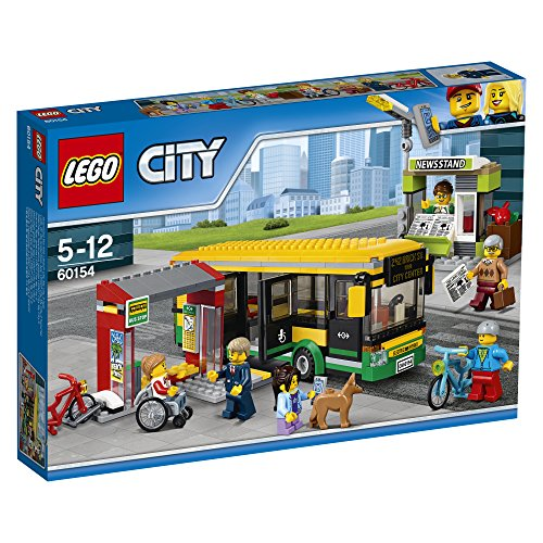 Preisvergleich Produktbild LEGO City 60154 - Busbahnhof