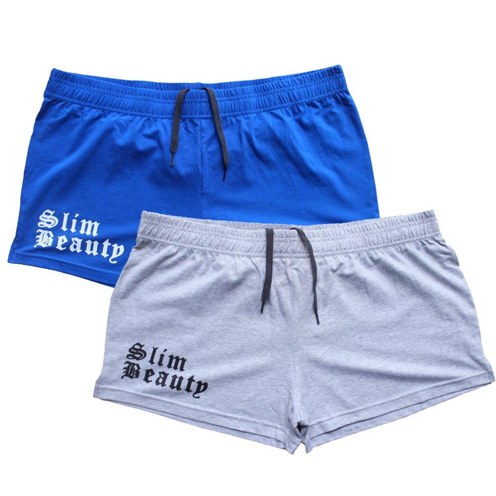 Alivebody Pantaloncini Palestra Uomo Corsa Corti Bodybuilding Short 5 Inseam