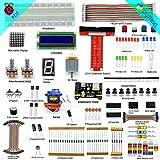 adeept Super Kit de iniciación para Raspberry Pi 3, 2modelo B/B +, LCD1602, servo, motor, C y Python código, principiante/Starter kit con manual de usuario/Guía