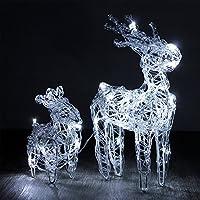 Weihnachtsbeleuchtung Rentier Beweglich.Suchergebnis Auf Amazon De Für Beleuchteter Elch Beleuchtung