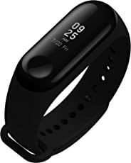 Global English Version - Xiaomi Mi Band 3 Fitness Tracker 0.78 OLED Display Heart Rate Monitor 5 ATM (50M) Water-Resistant Bracelet Pedometer Activity Tracker Weather Forecast Smart Reminder for iPhone Android phones Bluetooth BLE 4.2