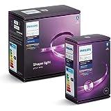 Philips Hue Bluetooth Lightstrip Plus White & Color Ambiance 2m Basic Set + 1m Extension | LED Stripe met spraakbesturing via