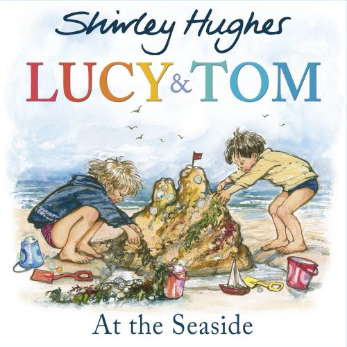 Lucy and Tom at the seaside