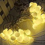 LED Ball String Lights,Zimingu USB Globe Weihnachten Fairy Light Birne 16.5FT