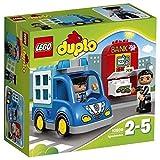 LEGO Duplo 10809 - Polizeistreife, Kleinkinder-Spielzeug, große Bausteine