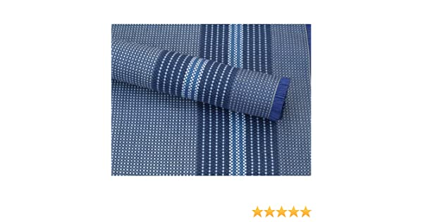 robust Balkon Arisol Zeltteppich Luxe blau Terassen oder Markisen Vorzeltteppich ideal f/ür Zelte