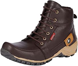 Bachini Men's Black Synthetic Boots (1509-$P)