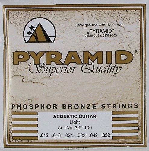 """Pyramid Acoustic Guitar """"Premium Bronze"""", light"""