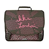 Cartable 38 Kaki IKKS LONDON
