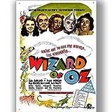 Zauberer von oz Film Film Poster Vintage Retro-Stil Leinwand Wand Kunstdruck Bild groß Klein
