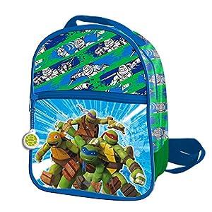 61As1kr3oJL. SS300  - Tortugas Ninja 2018 AS9834 Mochila Infantil, 24 cm, Multicolor