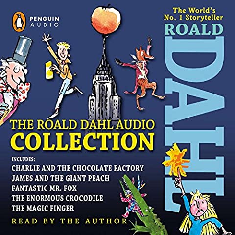 The Roald Dahl Audio Collection: Includes Charlie and the Chocolate Factory, James & the Giant Peach, Fantastic M R. Fox, the Enormous Crocodile &