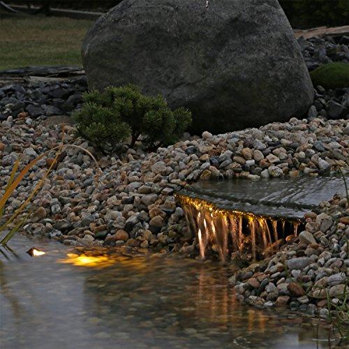 LED Unterwasserstrahler Set Beleuchtung für Teich Fontänen Bachlauf Springbrunnen Wasserspiele