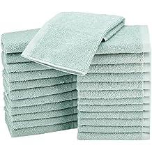 AmazonBasics - Paños de algodón (30,5 x 30,5 cm),