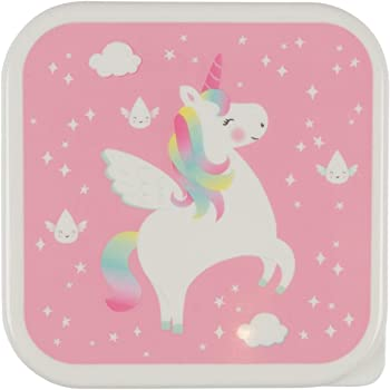 bfba7173713 Rainbow Unicorn Lunch Box  Amazon.co.uk  Kitchen   Home