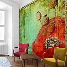 Fotomural - Vintage Stalks - Mural cuadrado, papel pintado, fotomurales, murales pared, papel para pared, foto, mural, pared barato, decorativo