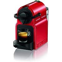 Nespresso Kapselmaschine Inissia XN1005 von Krups | Sehr schnell betriebsbereit | Automatische Abschaltung | Ruby Red