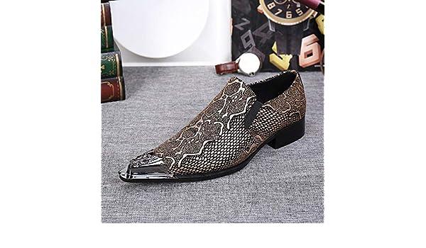 HeelsToToes Scarpe da Uomo Casual Elegante per Abiti Formali