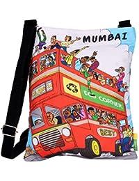 Eco Corner Women's Sling Bag (Multi-Coloured, 3024)