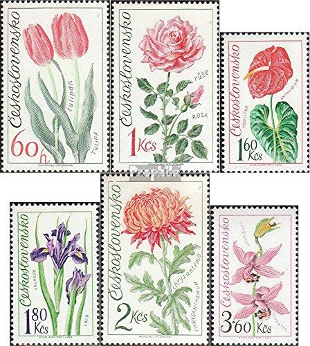 Prophila Collection Tschechoslowakei 2147-2152 (kompl.Ausg.) 1973 Blumen (Briefmarken für Sammler) Pflanzen -