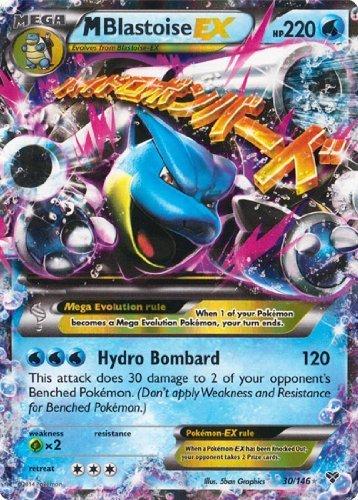 Pokemon M/Mega Blastoise EX (XY # 30/146) Karte [Ultra-Rare/Holo-foil]