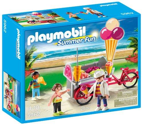Playmobil 5962 Summer Fun Eiswagen Eisverkäufer (Eiswaffel-ständer)