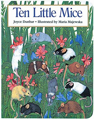 Ten Little Mice (Hbj Big Books) - Oversized-muse