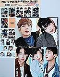 SHINee Glänzende [12 Plakate (A3-Format) + Aufkleber-Set + Textkarte] 14-Teiliges Set