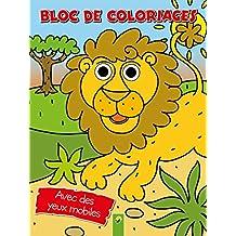 Bloc de coloriages Lion