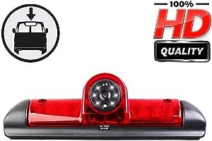 Hd Fahrzeugspezifische Farb Rückfahrkamera Zum Austausch Der Originalen 3 Bremsleuchte An Der Dachkante Für Citroen Jumper