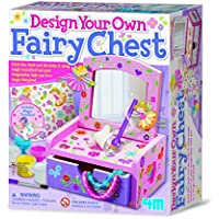 4M - Paint & Make Your Own Fairy Mirror Chest, juego de creatividad (004M2738)