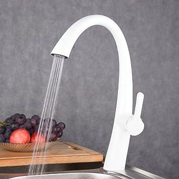 Extremely Beelee BL1751W Anstrich weiß herausziehen Küchenarmatur Wasserhahn  PZ57