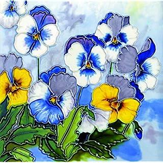 YH-Arts 8x8 Violas, Multicolour, 20x20x0.9 cm