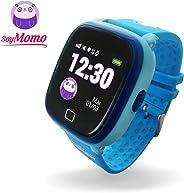 SoyMomo H2O Reloj Inteligente para Niños con GPS y Botón SOS, Móvil para niños con Ranura para SIM Que Permite Llamadas y Me